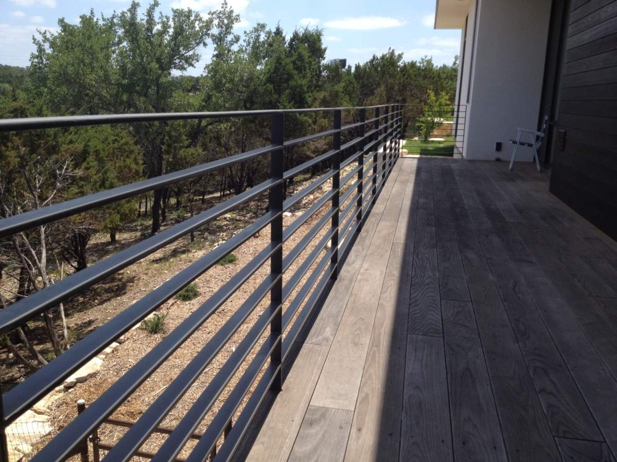 Austin Iron | Custom modern and traditional iron railings for ...